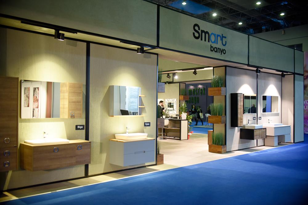 Smart Banyo fuar standı