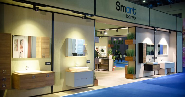 Smart Banyo Fair Stand